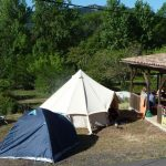 Hütte beim Lac du Salagou