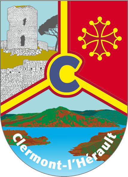 """Wappen von Clermot l""""Herault"""